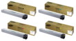 Genuine 4 Colour Samsung 806 Toner Cartridge Multipack (CLT-K806S/C806S/M806S/Y806S)