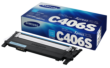 Genuine Cyan Samsung C406 Toner Cartridge (CLT-C406S/ELS)