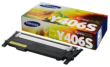 Genuine Yellow Samsung Y406 Toner Cartridge (CLT-Y406S/ELS)