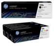 Genuine 5 Colour HP 128A Toner Cartridge Multipack - (CE320AD & CF371AM)