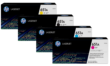 Genuine 4 Colour HP 651A Toner Cartridge Multipack - (CE340A/CE341A/CE342A/CE343A)