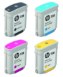 Genuine 4 Colour HP 728 Ink Cartridge Multipack - (F9J61A/F9J62A/F9J63A/F9J64A)