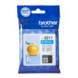 Genuine Brother LC3211C Cyan Ink Cartridge (LC3211C Inkjet Printer Cartridge)