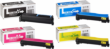Genuine 4 Colour Kyocera TK-560 Toner Cartridge Multipack (TK560K/C/M/Y)