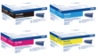 Genuine High Capacity 4 Colour Brother TN-423 Toner Cartridge Multipack (TN-423BK/C/M/Y)