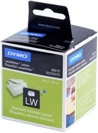 DYMO 11356 LW LABELWRITER SMALL NAME BADGE LABEL ROLL //// 89mm x 41mm //// S0722560