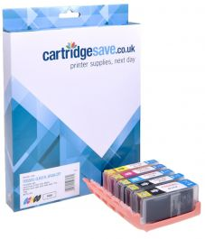Original CLI-551XL C//M//Y High Capacity 3 Ink Cartridge Pack for Canon