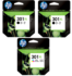 Genuine High Capacity 2 x Black & 1 x Tri-Colour HP 301XL Ink Multipack - (2 x CH563EE & 1 x CH564EE)