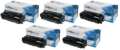 Compatible 5 Colour High Capacity HP 410X Toner Cartridge Multipack - (2x CF410X/CF411X/CF412X/CF413X)