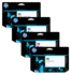 Genuine 4 Colour HP 70 Ink Cartridge Multipack - (C9449A/C9452A/C9453A/C9454A)