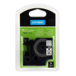 Genuine Dymo Black On White D1 19mm x 5.5m Polyester Tape Cartridge (16960 Permanent Tape)