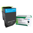 Genuine Cyan Return Program Lexmark 71B20C0 Toner Cartridge (71B20C0 Laser Printer Toner)