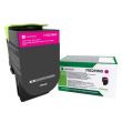 Genuine High Capacity Magenta Return Program Lexmark 71B2HM0 Toner Cartridge (71B2HM0 Laser Printer Toner)