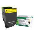 Genuine High Capacity Yellow Return Program Lexmark 71B2HY0 Toner Cartridge (71B2HY0 Laser Printer Toner)