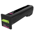 Genuine Extra High Capacity Magenta Lexmark 72K0X30 Toner Cartridge - (72K0X30)