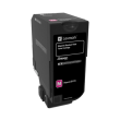 Genuine Magenta Lexmark 74C0S30 Toner Cartridge - (74C0S30)