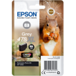 Genuine High Capacity Grey Epson 478XL Ink Cartridge - (T04F6 Squirrel Inkjet Printer Cartridge)