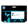 Genuine Matte Black HP 70 Ink Cartridge - (C9448A)