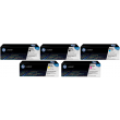 Genuine 5 Colour HP 824A / HP 825A Toner Cartridge Multipack - (2 x CB390A/CB381A/CB383A/CB382A)