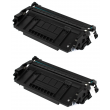 Compatible High Capacity Black HP 26X Toner Cartridge Twin Pack - (CF226XD)