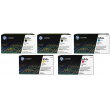 Genuine 5 Colour HP CF3 Toner Cartridge Multipack - (2 x CF320A/CF331A/CF332A/CF333A)