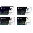 Genuine 4 Colour HP CF3 Toner Cartridge Multipack - (CF320A/CF331A/CF332A/CF333A)