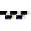 Genuine 5 Colour HP 508A Toner Cartridge Multipack - (2 x CF360A/CF361A/CF362A/CF363A)