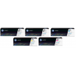 Genuine 5 Colour HP 201A Toner Cartridge Multipack - (2 x CF400A/CF401A/CF402A/CF403A)