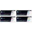 Genuine 4 Colour HP 201A Toner Cartridge Multipack - (CF400A/CF401A/CF402A/CF403A)