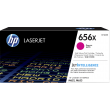 Genuine High Capacity Magenta HP 656X Toner Cartridge - (CF463X)