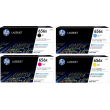 Genuine High Capacity 4 Colour HP 656X Toner Cartridge Multipack - (CF460X/CF461X/CF462X/CF463X)