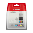 Genuine 4 Colour Canon CLI-551 Ink Cartridge Multipack - (CLI-551BK/C/M/Y)