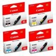 Genuine High Capacity 4 Colour Canon CLI-551XL Ink Cartridge Multipack  - (CLI-551BK/C/M/Y-XL)