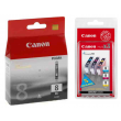Genuine 4 Colour Canon CLI-8 Ink Cartridge Multipack - (CLI-8BK/C/M/Y)