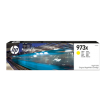 Genuine High Capacity Yellow HP 973X Ink Cartridge - (F6T83AE)