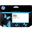 Genuine Yellow HP 745 Ink Cartridge - (F9J96A)