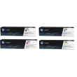 Genuine 4 Colour HP 130A Toner Cartridge Multipack - (CF350A/CF351A/CF352A/CF353A)