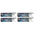 Genuine 4 Colour HP 913A Ink Cartridge Multipack - (L0R95AE/F6T77AE/F6T78AE/F6T79AE)