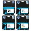 Genuine 4 Colour HP 950/951 Ink Cartridge Multipack - (CN049AE/CN050AE/CN051AE/CN052AE)