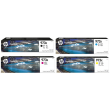 Genuine High Capacity 4 Colour HP 973X Ink Cartridge Multipack - (L0S07AE/F6T81AE/F6T82AE/F6T83AE)