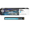 Genuine Cyan HP 981A Ink Cartridge - (J3M68A)