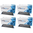Compatible 4 Colour HP 124A Laser Toner Multipack - (replaces HP Q6000A/Q6001A/Q6002A/Q6003A)