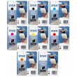 Genuine 8 Colour Epson T324 Ink Cartridge Multipack - (T3241/2/3/4/7/8/9/0 Puffin Ultrachrome Ink Cartridges)