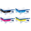 Genuine 4 Colour Brother TN-421 Toner Cartridge Multipack (TN-421BK/C/M/Y)