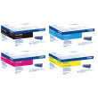 Genuine Extra High Capacity 4 Colour Brother TN-910 Toner Cartridge Multipack (TN-910BK/C/M/Y)