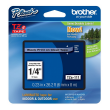 Genuine Brother TZe-111 Black On Clear Laminated P-Touch Labelling Tape 6mm x 8m (TZE-111 Tape)