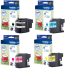 Brother LC22U 4 Colour Ink Cartridge Multipack (LC-22UBK/C/M/Y)