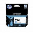 Genuine HP 963 Cyan Ink Cartridge (3JA23AE)