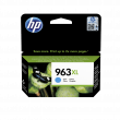 Genuine High Capacity Cyan HP 963XL Ink Cartridge (3JA27AE)