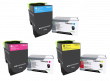 Genuine 3 Colour Lexmark 71B00 Toner Cartridge Multipack (71B0020/30/40)